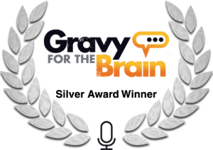 Esther Wane received the Silver Award from Gravy for the Brain for Voice Over
